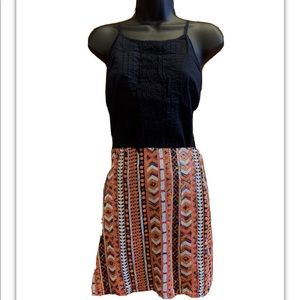 Multicolored Sequins Mini Skirt